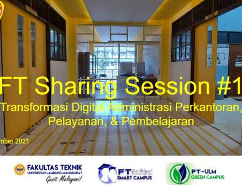 FT Sharing Session (Seri #1)