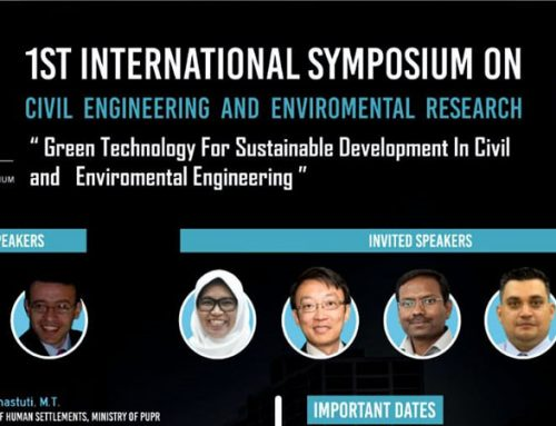 1st International Symposium on Civil Engineering and Environmental Research