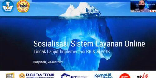 Sosialisasi Sistem Layanan Online FT ULM